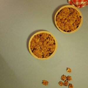Crumble de poireaux aux noix et fourme (2)-La-popotte-du-jour-Condrieu