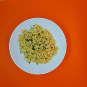 La-popotte-du-jour-Spatzles-sauce-cepes 4