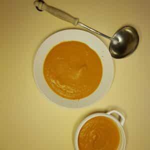 La-Popotte-du-jour-Creme de carottes Curuma et lait de coco (2)