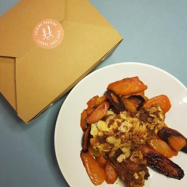 La-Popotte-du-jour-Emincé de poulet pane et carottes (1)