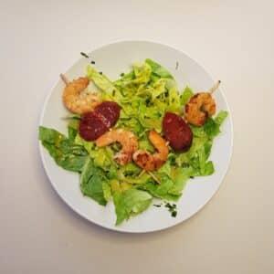 La popotte du Jour- Brochettes de crevettes chorizo (1)
